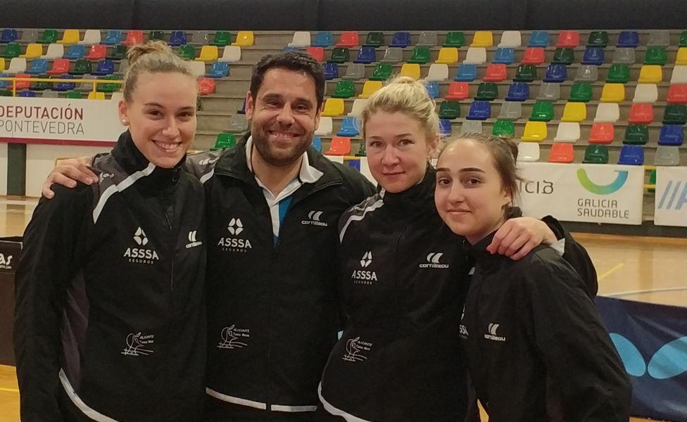 ASSSA Alicante TM, equipo ascendido a Superdivisión Femenina de Tenis de Mesa