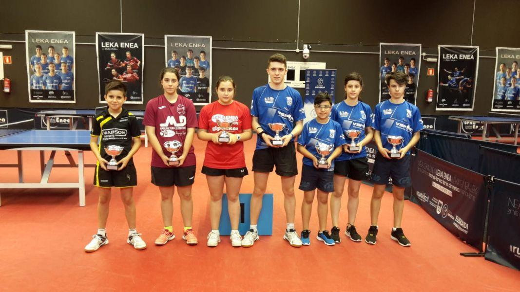 Campeones del VII Circuito de Jóvenes Sports Madison & CHema TM
