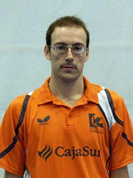 José Luis Machado, jugador del CajaSur Priego