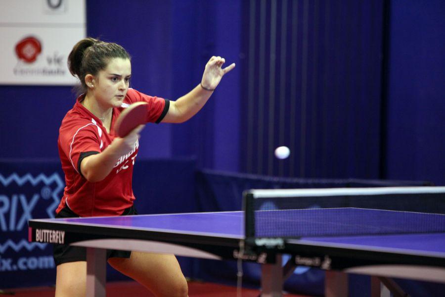 Ana García, jugadora de Girbau Vic TT