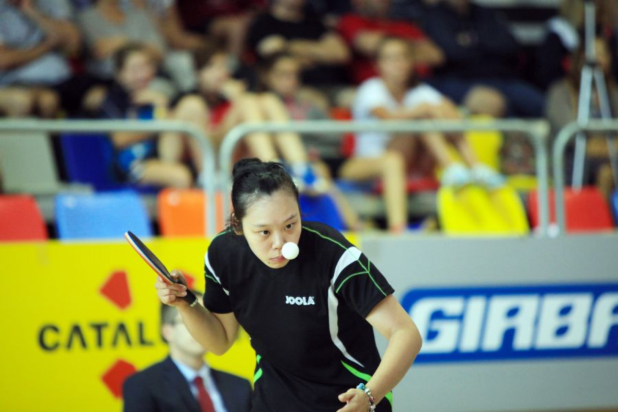 Zhipei Wang, campeona (Fotos: David Fajula)