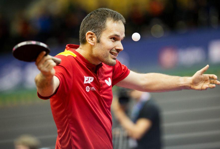 Jordi Morales, en acción (Foto: ITTF)