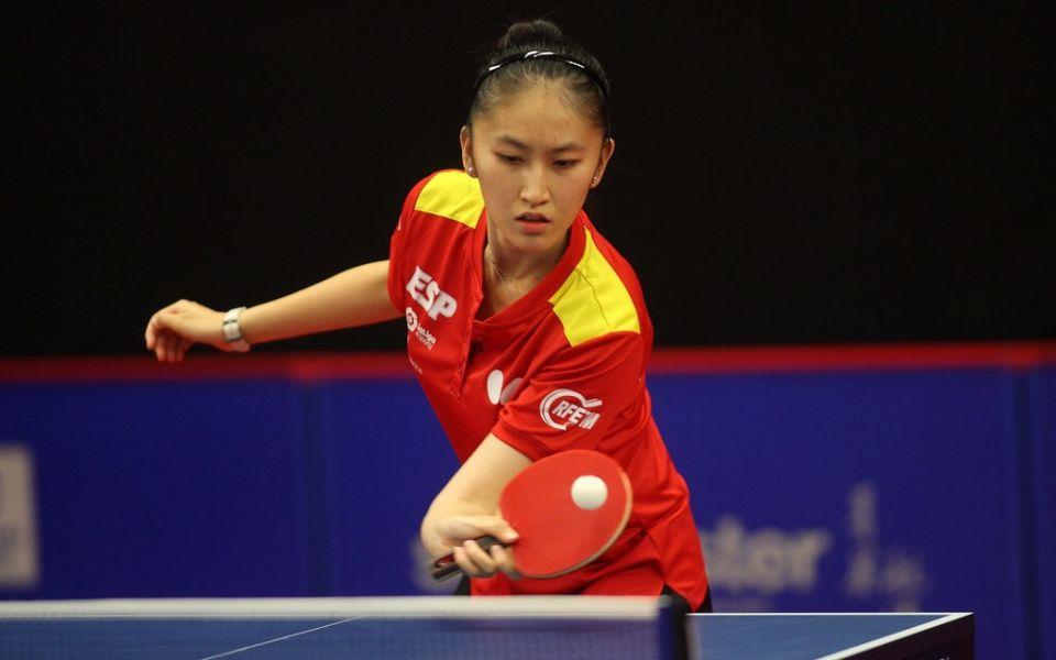 Sofía Xuan Zhang, jugadora de la Selección Española de Tenis de Mesa.