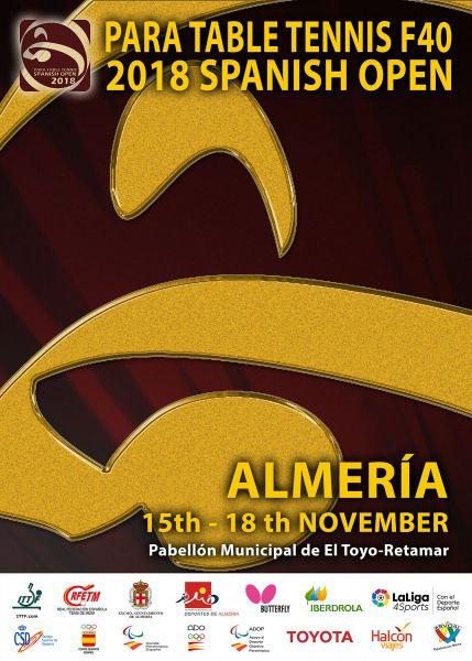 Cartel PTT Spanish Open Factor 40 Almería