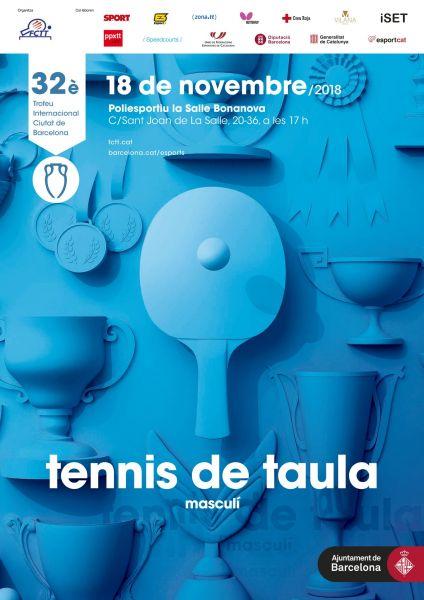 Cartel 32ª edición Torneo Internacional Ciutat de Barcelona