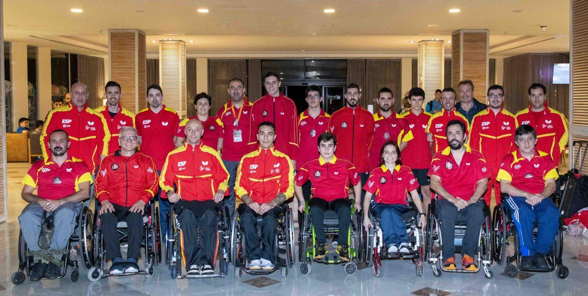 Equipo paralímpico español PTT Spanish Open Factor 40 Almería