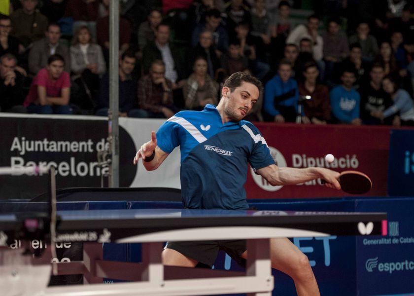 Marcos Freitas jugando en el Ciutat de Barcelona 2018