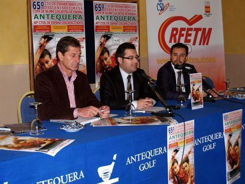 Pedro Aragón, Manuel Chicón y Miguel Ángel Machado.