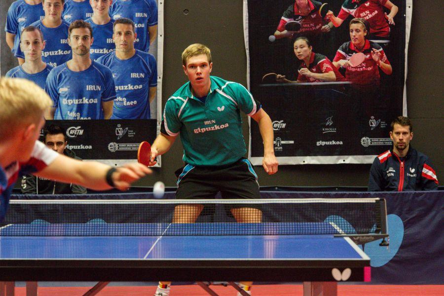 Hampus Soderlund, jugador de Irún Leka Enea.