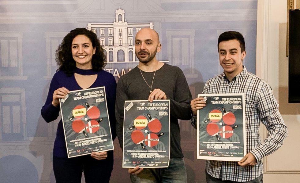 Presentación del España vs Dinamarca de Liga Europea (Foto: Jordi Mesa)