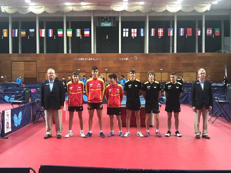 Final Junior Masculina ITTF Portugal Junior & Cadet Open 2018