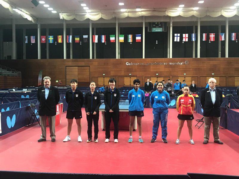 Final Junior Femenina ITTF Portugal Junior & Cadet Open 2018