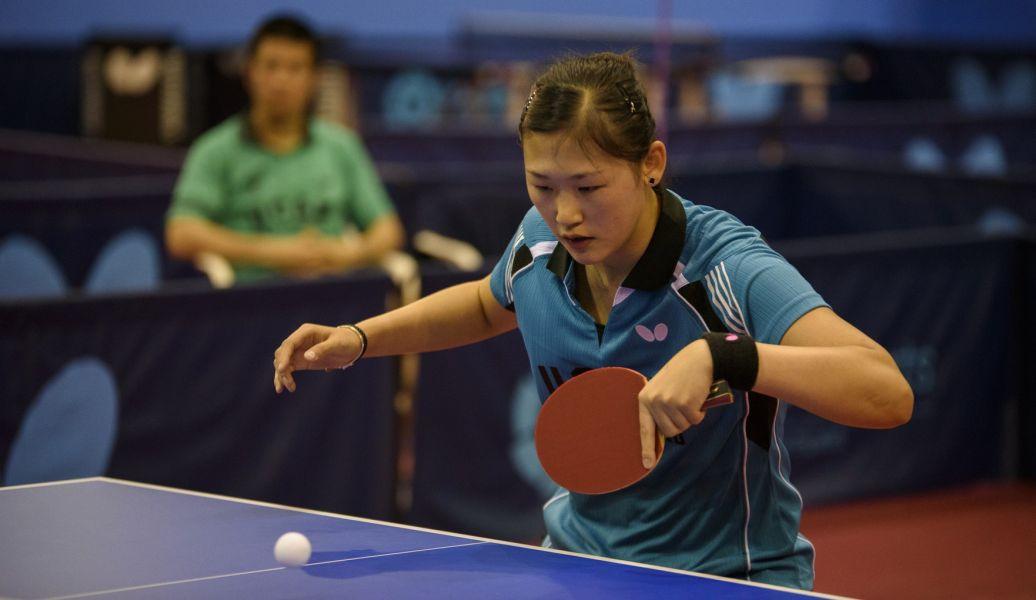 María Xiao, jugadora de UCAM Cartagena TM