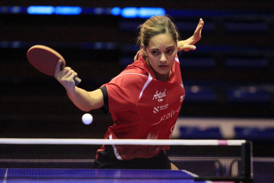 Raquel Bonilla, jugadora de Arteal Tenis de Mesa