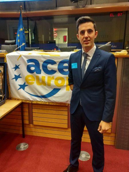 Jose Manuel Ruiz, representante de Granada en el Parlamento Europeo