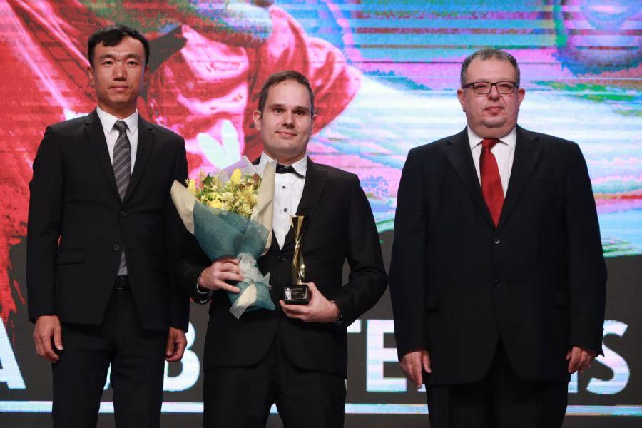 Jordi Morales, Estrella Mundial del tenis de mesa 2018