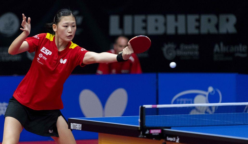 María Xiao, jugadora de la Selección Española de Tenis de Mesa