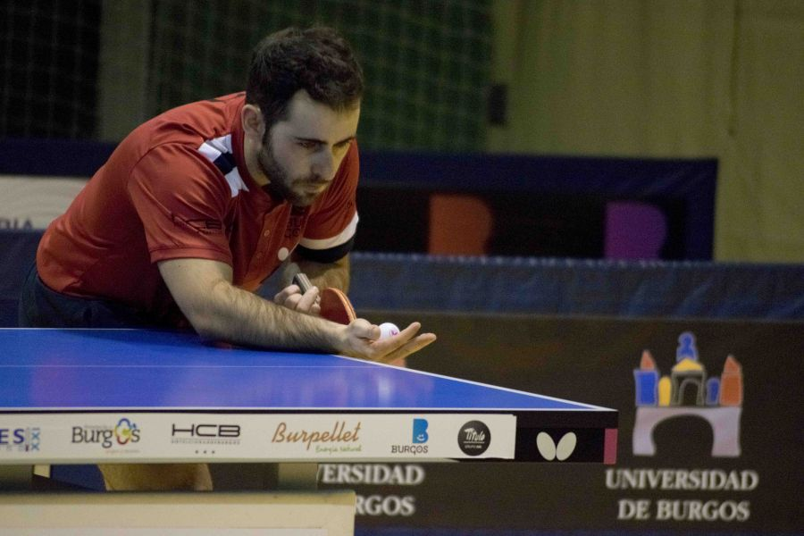 Jorge Ausin, jugador de Universidad de Burgos TPF