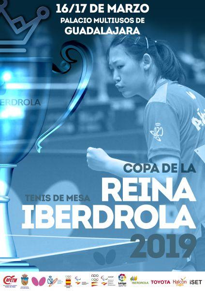 Cartel Oficial Copa de la Reina - Iberdrola 2019