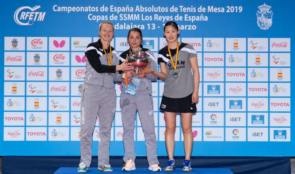 UCAM Cartagena TM con su 15 título de la Copa de la Reina - Iberdrola 2019
