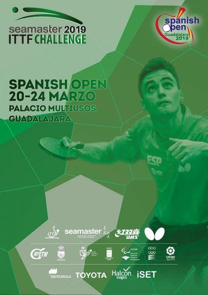 Cartel ITTF Seamaster Challenge Spanish Open 2019