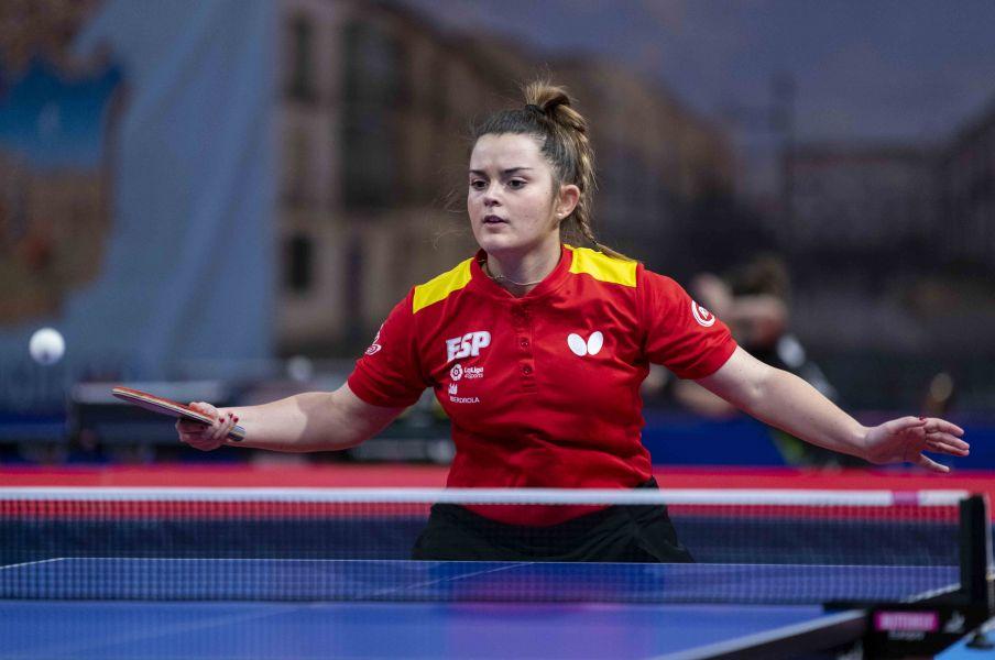 Ana García disputando el torneo en Guadalajara
