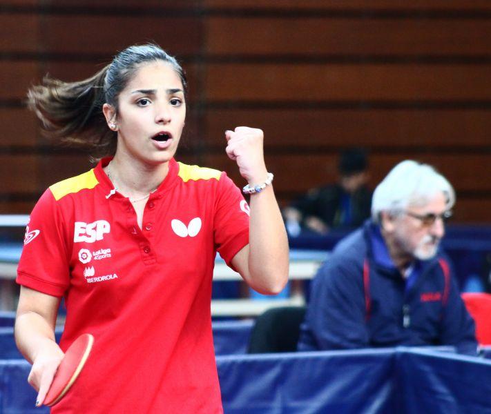 Nerea García, jugadora de la Delegación Española en Bélgica