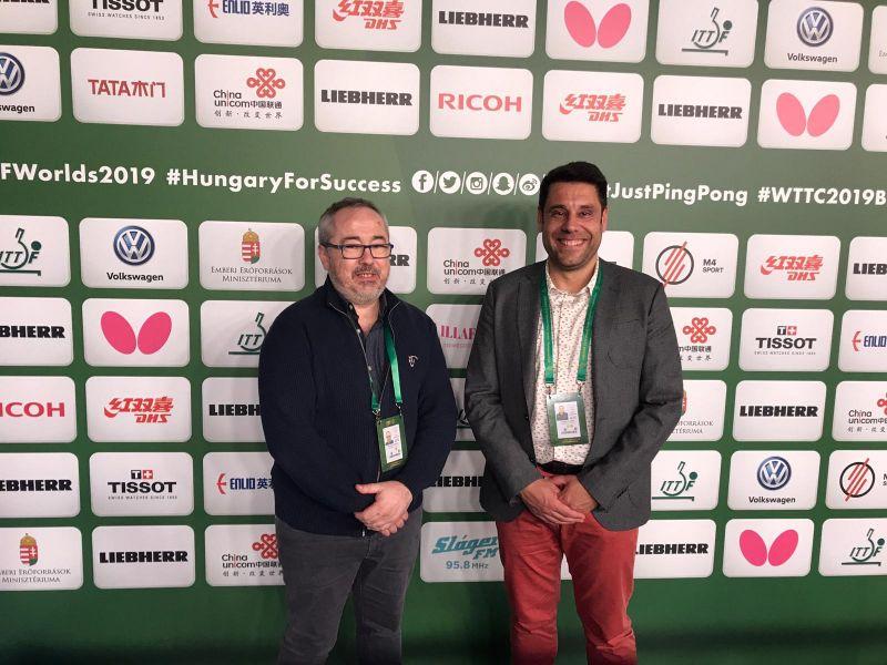 Antonio García y Daniel Valero
