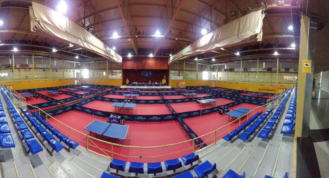 Pabellón del 42º Open Internacional de España Junior y Cadete