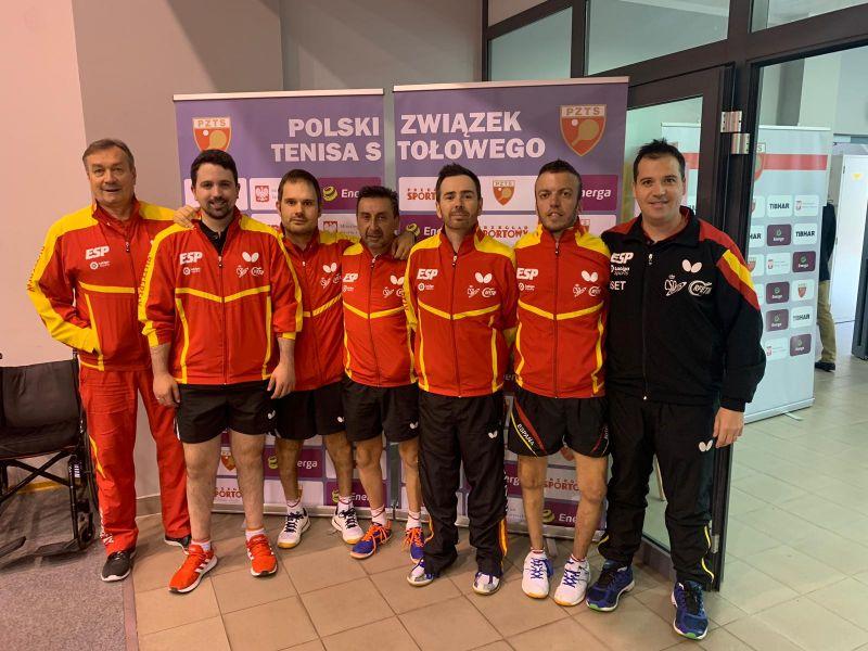 Delegación española en el PTT Polish Open 2019