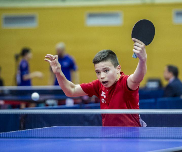 Daniel Berzosa en el ITTF Junior Circuit Golden China Open 2019