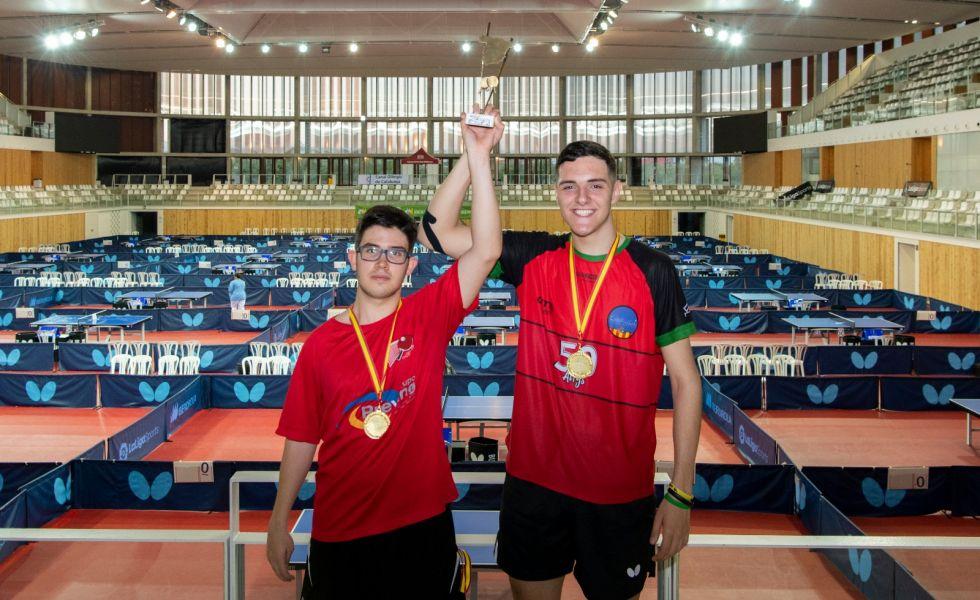 Campeón Equipos Pie Campeonato de España 2019 (Foto: Alvaro Diaz)