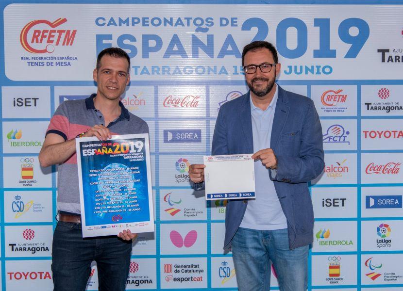 Visita Sorea a los Campeonatos de España de Tenis de Mesa 2019 (Foto: Alvaro Diaz)