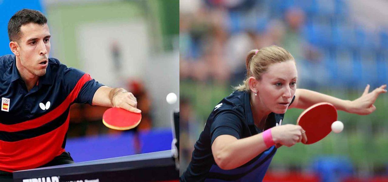 Galia Dvorak y Álvaro Robles participando en los Juegos Europeos 2019 (Foto: COE)