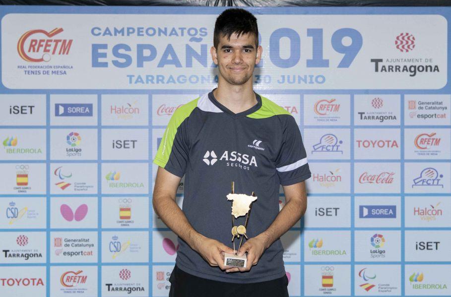 Alberto Lillo, Campeón de España Juvenil 2019 (Foto: Alvaro Diaz)