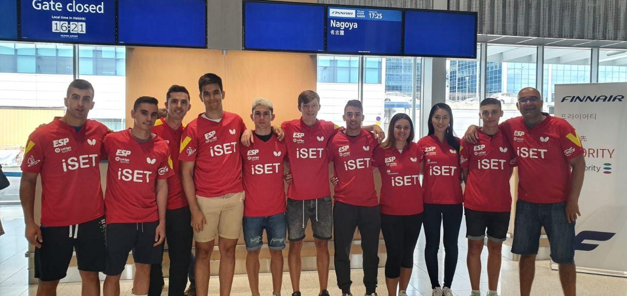 Delegación española rumbo a Japón