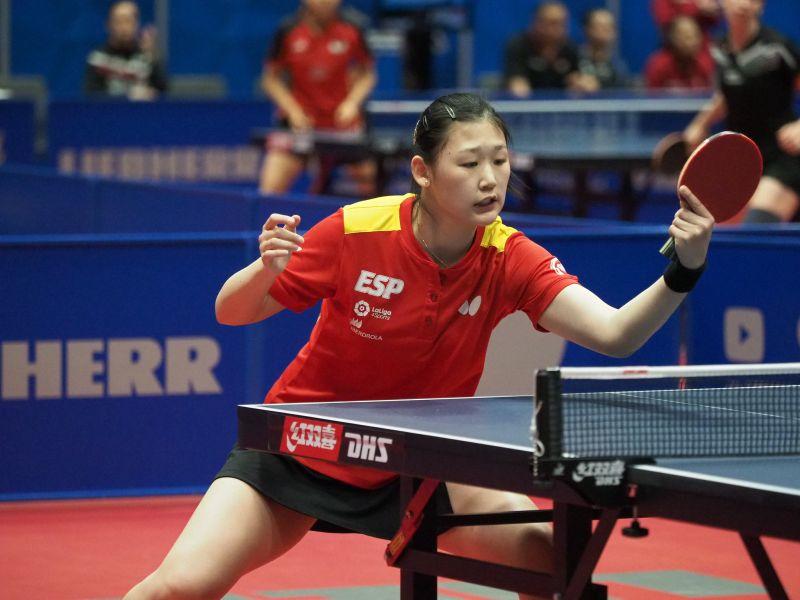 María Xiao participa en un torneo ITTF World Tour