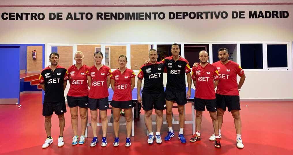 Equipos absolutos en el CAR de Madrid