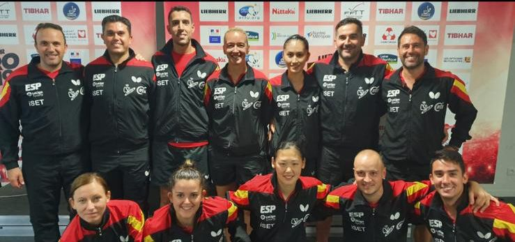 Delegación española en el Campeonato de Europa por Equipos 2019