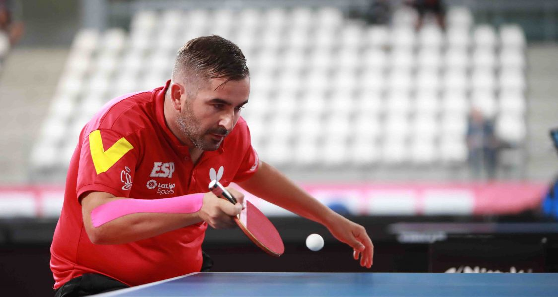 Jesús Cantero disputando el Campeonato de Europa 2019 (Foto: ETTU)