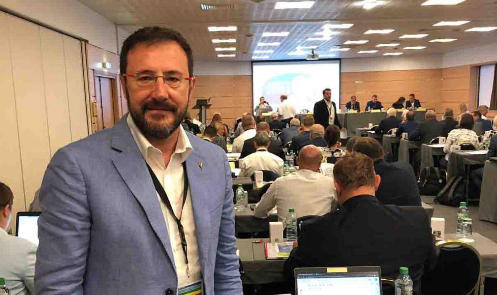 Miguel Ángel Machado acude a la Asamblea General de la ETTU