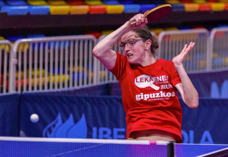 Ioana Tecla, jugadora de Leka Enea TM (Foto: Alvaro Díaz)