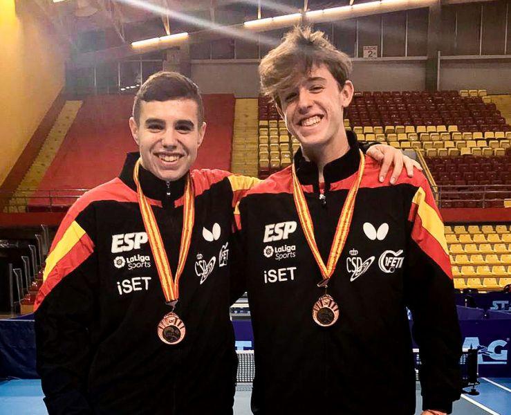 Pau Lloret y Eric Cintas logran el bronce en Macedonia