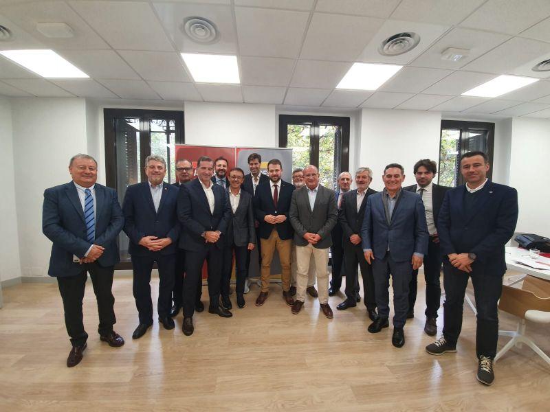 Foto grupal Junta Directiva de ADESP Gerard Figueras