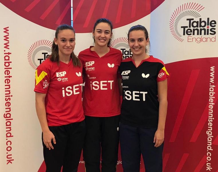 De izquierda a derecha: Marina Ñiguez, Ángela García y Mónica Hortal.
