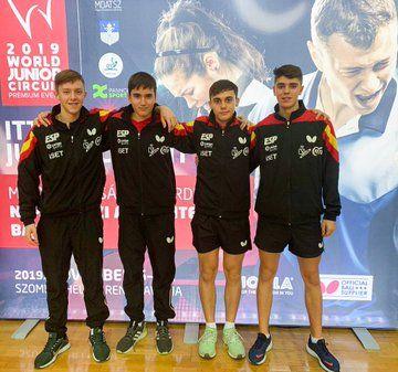 Equipo Español Junior Masculino (Foto: RFETM)
