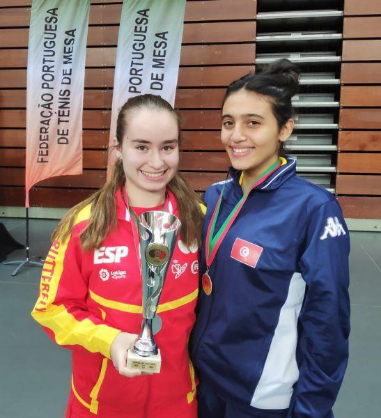 Claudia Canay, plata en el ITTF Junior de Portugal