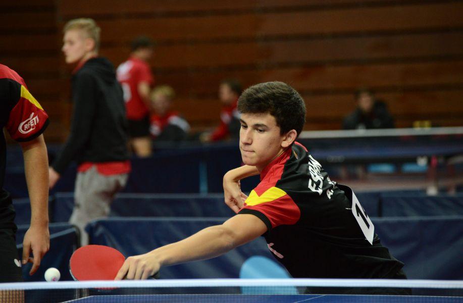 Ander Cepas en acción (Foto: ITTF)