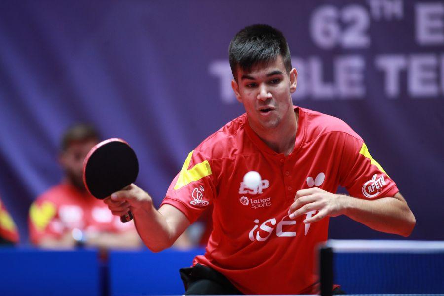 Alberto Lillo en acción (Foto: ITTF)
