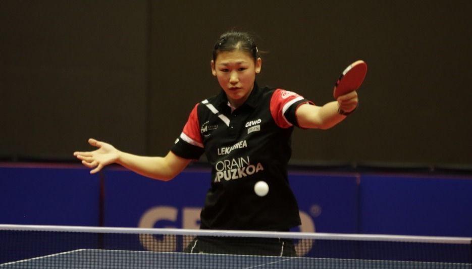 Maria Xiao, jugadora de Irún Leka Enea (Foto: Maria Rubio)